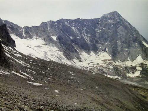 Adamello NW ridge from Passo...