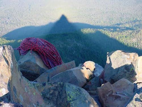 late afternoon moutain shadow...