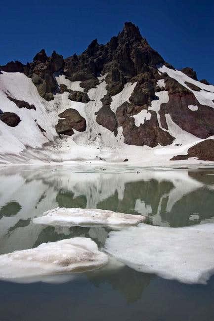 Lake on east side of Broken...