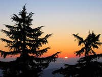 Mt. Pilchuck sunset