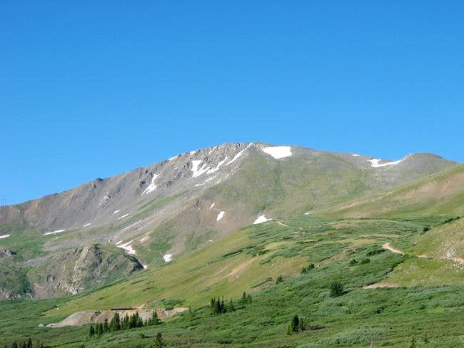 Argentine Peak from the...