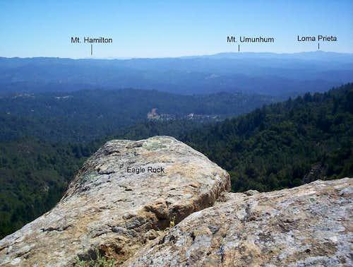 View looking east.