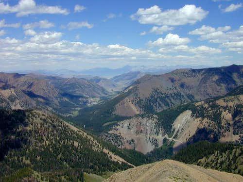 Upper Trail Creek road and...