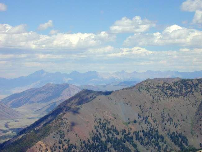 The Lost River Range in a...