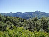 Freedom Peak (second peak...