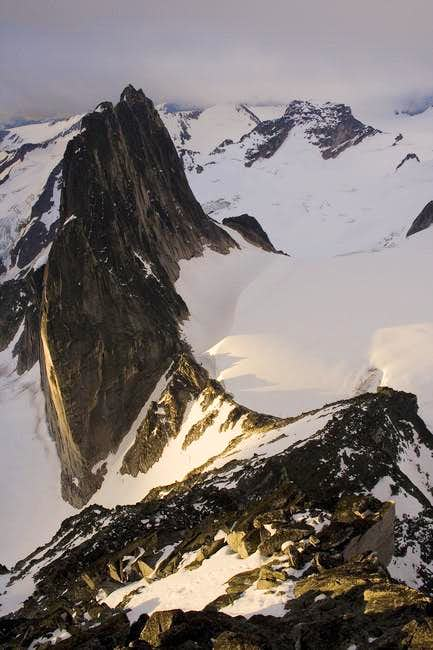 Snowpatch Spire from the Kain...