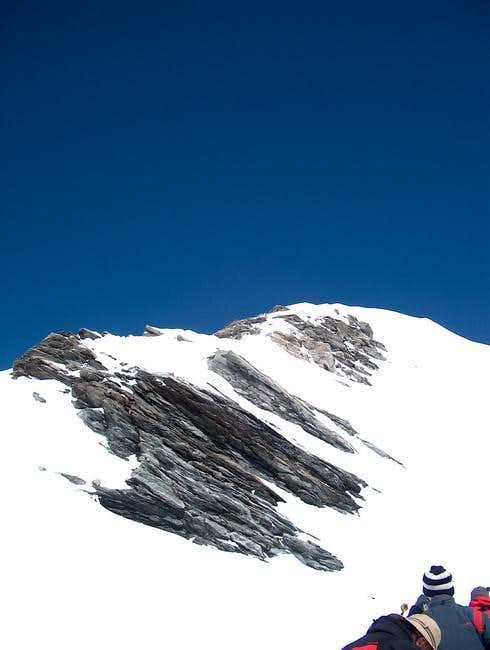 The snow - ridge (of the...