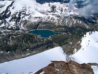Snow ridge to the Totenkopf...