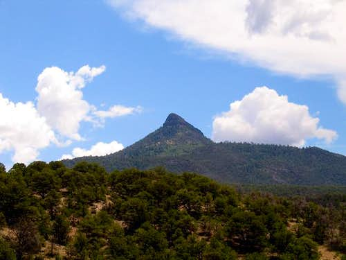 Cerro Pedernal from the West....
