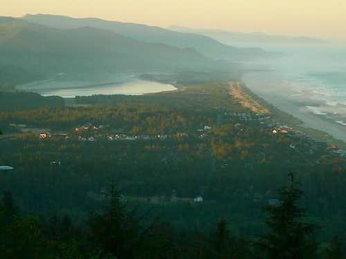 This photo shows Nehalem Bay....