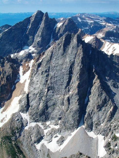The North Faces of Buck and...
