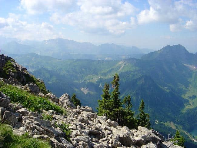Mont de Grange, rock chaos of...