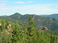Mt Manitou (9429 ft) and...