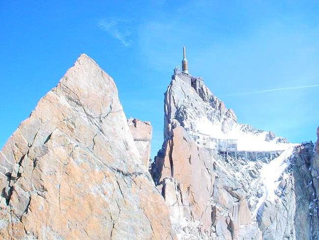 South face of the midi from...