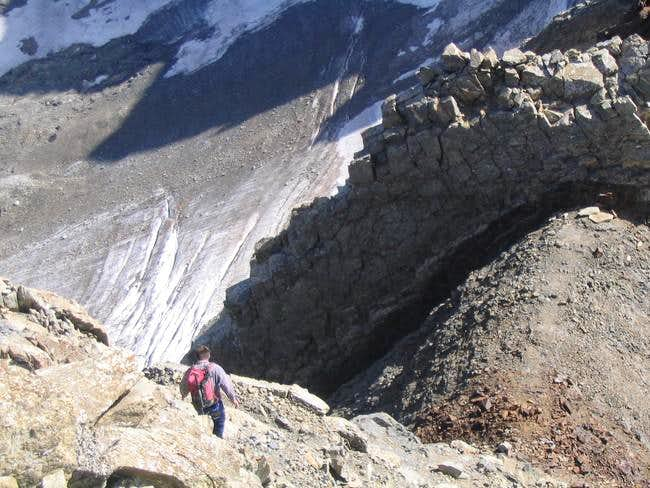 on the espadas ridge at 3300...