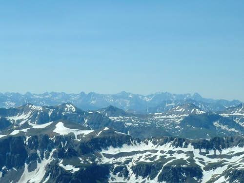San Juan mountains from the...