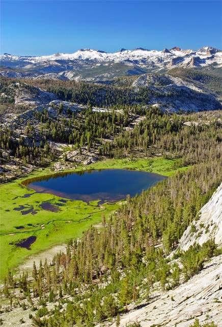 Beautiful Matthes Lake with...