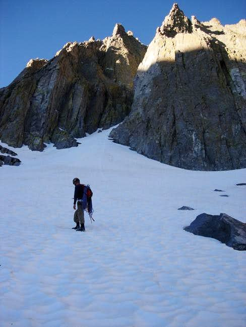 Approaching Temple Crag's Sun...