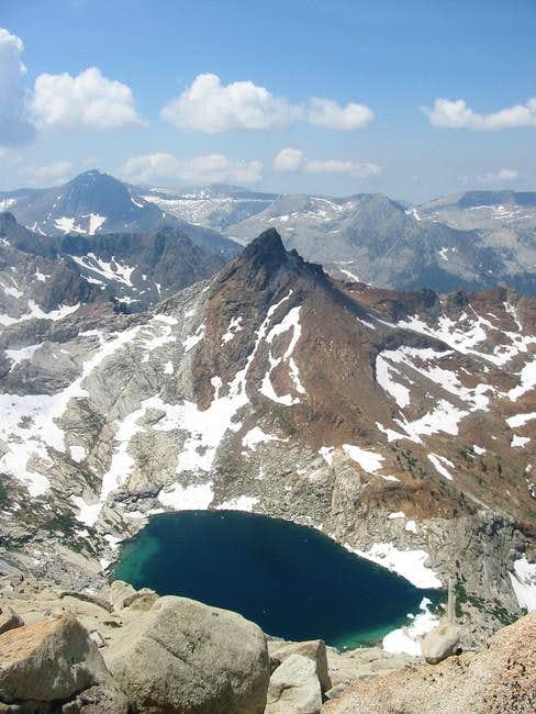 Upper Monarch Lake with...