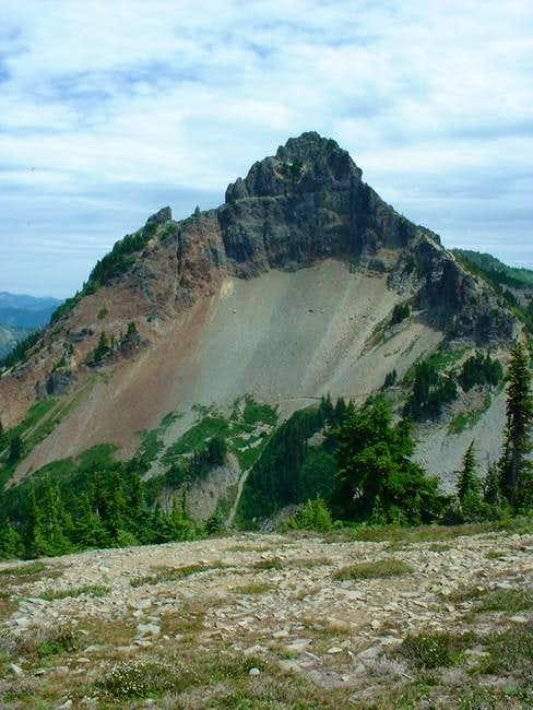 Pinnacle Peak as seen from...