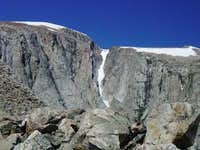 A view of the couloir on the...