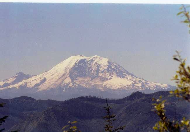 Mount Ranier from the first...