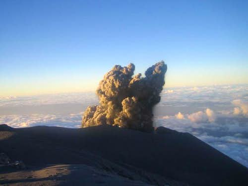 Eruptions have changed on...