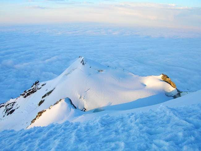 Sherman Peak from top of Baker