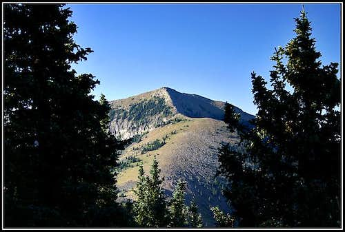 Sierra Blanca from near the...