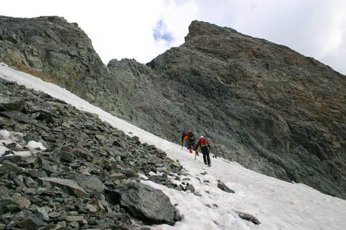 Summit of Les Agneaux with...
