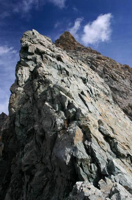 Summit of Les Agneaux, seen...