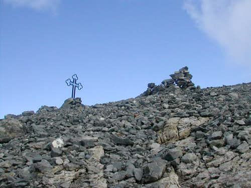The summit of Cime de l'Est...