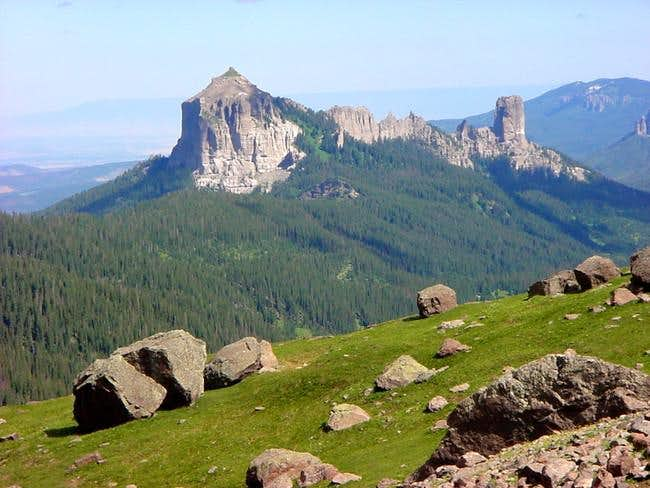 Courthouse Mountain