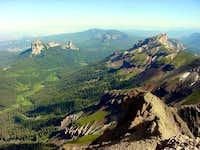 Precipice Peak on the right...