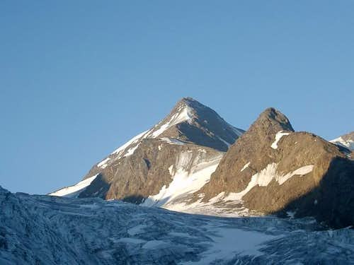 Weisskugel - north ridge