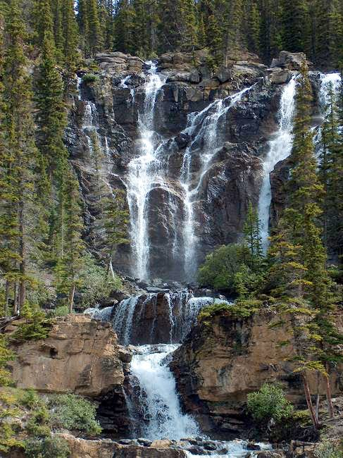 Tangle Falls, the start of...
