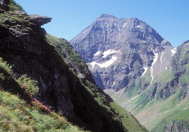 Hochgolling seen from NE from...
