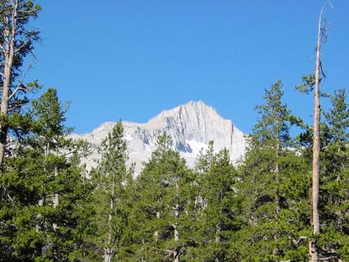 First views of Mt. Brewer and...