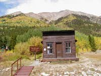 Here is one of the cabins...