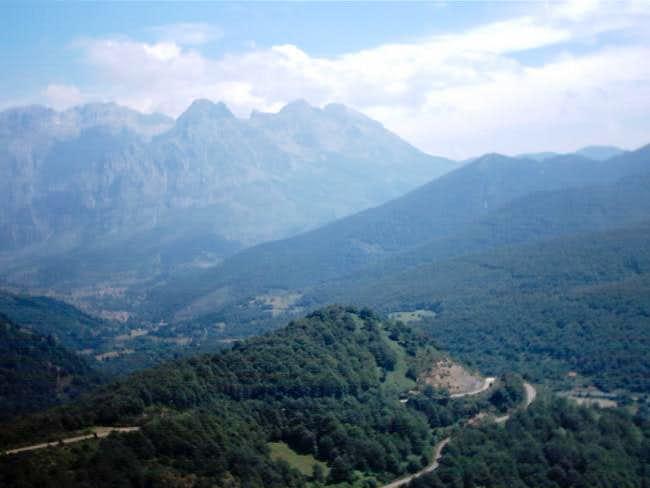 Torre del Friero peak from...