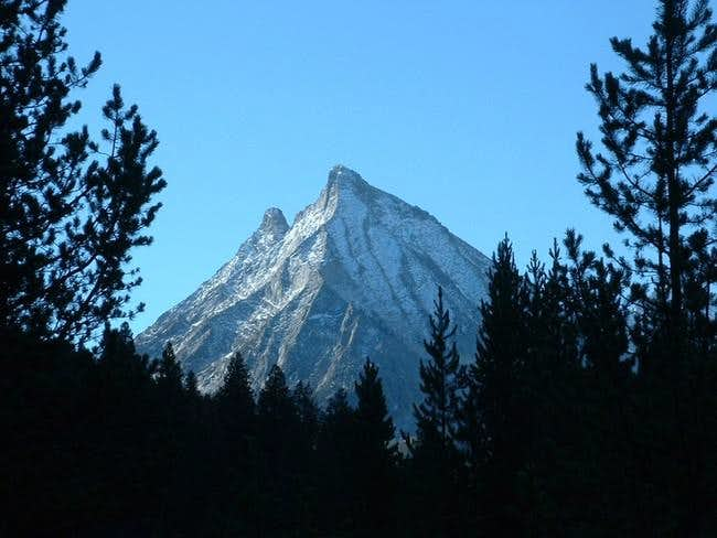 Howard Peak in the fall from...