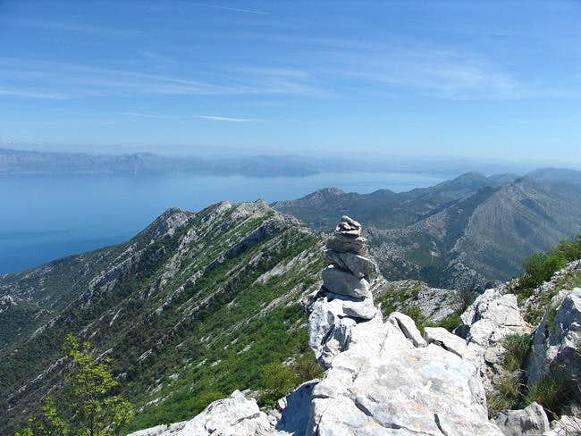 Sveti Ilija – a view on Peljesac peninsula