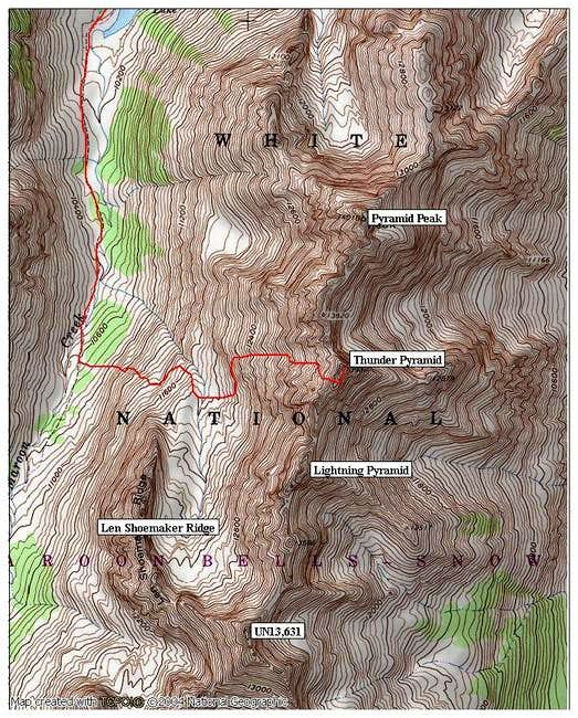 The West Face Route on...