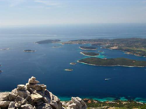 A view from Sveti ilija...