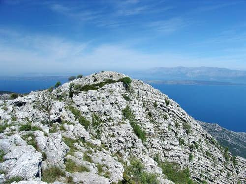 The summit of Sveti Ilija. In...
