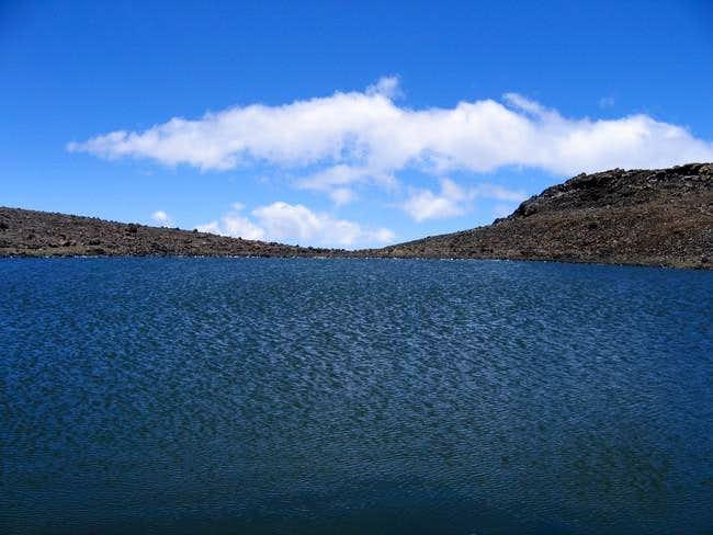 Lake Waiau (13020'), the 7th...