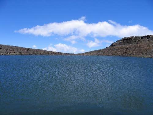 Lake Waiau (13020\'), the 7th...