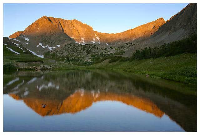 Static Peak and the ridge...