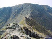 Veiw of Helvellyn summit from...