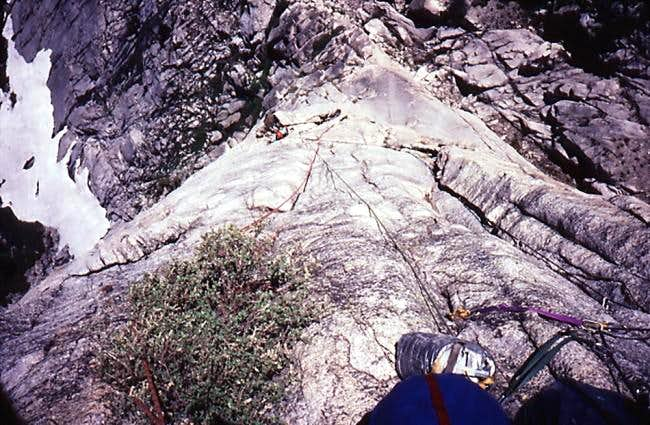 Northeast Arete / Rowell Route